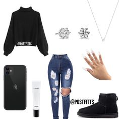 20 Cute outfits for your school days - Cocomew is to share cute outfits and swee. - Cute outfits for school - Fashion Outfits Baddie Outfits For School, Baddie Outfits Casual, Swag Outfits For Girls, Cute Teen Outfits, Cute Outfits For School, Teenage Girl Outfits, Cute Comfy Outfits, Teenager Outfits, Teen Fashion Outfits