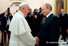 El Papa recibe a Putin y conversan sobre la paz en Oriente Medio y el G20