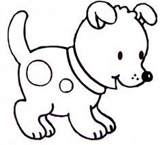 Dibujos para colorear de perros                                                                                                                                                     Más