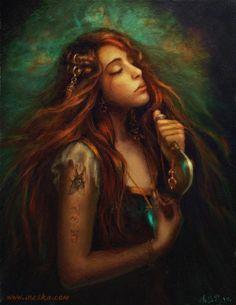 The Spell (Заклятье)  Лишившись своего любимого/ ведьма совершает ритуальное самоубийство...Чтобы встретиться с ним в другой жизни