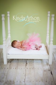 Princess and the Pea Four Post Grand Bed for Newborn Photography/American Girl Doll