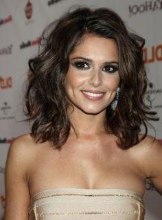 Cheryl Cole capelli medi e mossi