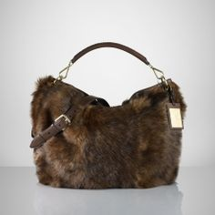 Shearling Bohemian Hobo - Ralph Lauren Holiday Dressing - RalphLauren.com