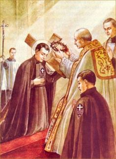 Profession of St. Gabriel of Our Lady of Sorrows