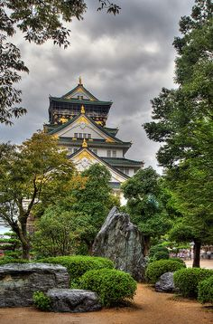 Osaka Castle, Japan.I want to go see this place one day.Please check out my website thanks. www.photopix.co.nz