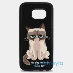 Grumpy Cat Good Morning Nope Samsung Galaxy Note 8 Case | armeyla.com