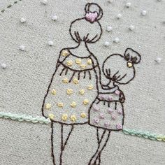 Embroidery Needles, Hand Embroidery Stitches, Silk Ribbon Embroidery, Hand Embroidery Designs, Embroidery Applique, Cross Stitch Embroidery, Hand Art, Wool Applique, Fabric Painting