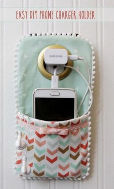 DIY Portable Phone Charger. DIY Portable Phone Charger 2 sewing projects