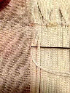 Ney Ney's Nest: Picture Smocking Unraveled-Part 2 Holding Rows and Backsmocking