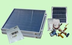 This step by step tutorial of how to build a homemade off the grid solar hot water project is a way to use the sun& rays to heat your home. Tankless Hot Water Heater, Solar Water Heater, Solar Energy Panels, Best Solar Panels, Solar Panel Kits, Solar Panel Installation, Solar Energy System, House Styles, Grid
