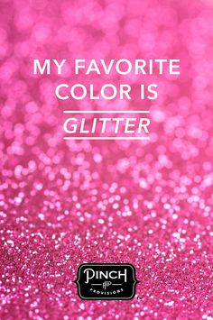 Our Favorite Color is Glitter! Glitter is the only thing that can't make a mess when you spill it. Just adds a touch of glitter. Glitter Make Up, Sparkles Glitter, Pink Glitter, Glitter Party, Vintage Pink, Robes Vintage, Pink Love, Pretty In Pink, Hot Pink