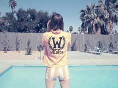 Wildfox at the pool