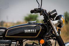 RX100 Yamaha Tank Yamaha Cafe Racer, Yamaha Fz, Yamaha Motorcycles, Tracker Motorcycle, Motorcycle Logo, Motorcycle Design, Bike Design, Yamaha Rx 135, Motorcycles In India