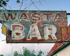 "Photograph of Wasta Bar, Wasta SD ""Zane's Bar"" got stranded here & the owners were my saviors. -RPR"