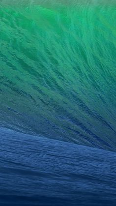 OS X Mavericks Wave