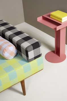 ...About Fabrics: NYA NORDISKA - Colección CORE CLASSICS Textiles, Dose Of Colors, Mid Century Decor, Home Studio, Daybed, Outdoor Furniture, Outdoor Decor, Ottoman, Sweet Home