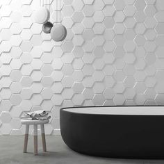 Wallcovering: 12 Ways to Adopt Tiling in the Bathroom - - 3d Tiles Bathroom, Bathroom Wall Art, 3d Wall Tiles, Office Bathroom, Retaining Wall Patio, 3d Wall Murals, Panel Moulding, The Tile Shop, Dream Bath
