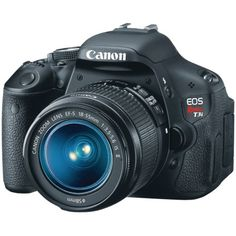 Canon EOS Rebel T3i 18 MP CMOS APS-C Sensor DIGIC 4 Image Processor Full-HD Movie Mode Digital SLR Camera with 3.0-Inch Clear View Vari-Angle LCD and EF-S 18-55mm f/3.5-5.6 IS Lens