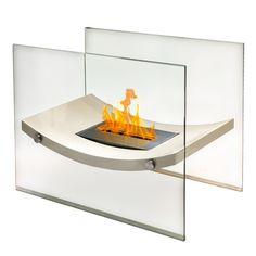 Anywhere Fireplace Broadway - Ventless Free Standing Ethanol Fireplace - ModaBlaze   - 1