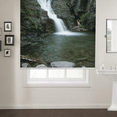 Waterfalls Printed Roller Blind  #rollerblinds #homedecor #interiordesign