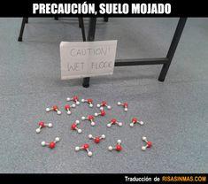 Lección de química divertida.