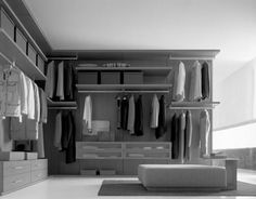 Nice Walk in Closet Idea for Your Bedroom: Walk In Closet Design Ideas Modern Italian Walk In Closet Stylish ~ CHUCKFERRARO Furniture Inspiration