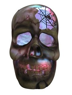 Halloween Haunted Heads - Lifesized Sculpted Poly Resin Lighted Heads with Scary Sounds. Halloween Party Decor, Halloween House, Halloween Gifts, Spooky Halloween, Halloween Lighting, Halloween History, Come Little Children, Scary Sounds, Skull Decor