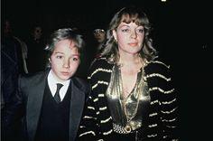 Romy Schneider et son fils David