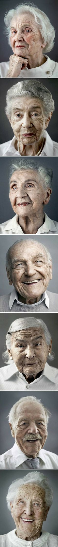 """100 years old! """"Happy at One Hundred"""" - Photos by  Karsten Thormaehlen. °"""