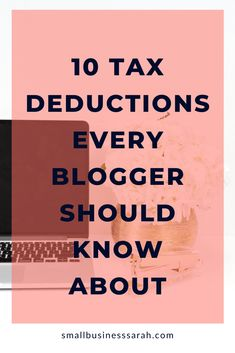 Small Business Bookkeeping, Small Business Tax, Business Money, Business Tips, Business Tax Deductions, Small Business Organization, Make Money Blogging, Entrepreneur Inspiration, Finance Tips