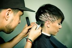 Shaved Hair Designs for Girls | photo