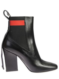 MSGM BACK PULL LOOP LEATHER BOOTS. #msgm #shoes #