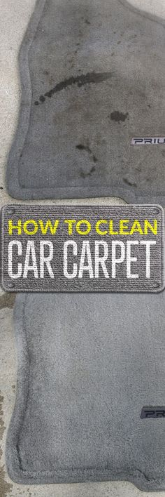 The automotive carpet and floor mats in your car sees more than its share of mud, dirt, stains and odors, little pieces of food, spilled drinks and more. Simple Green All-Purpose Cleaner can spot-clean spills or even work in a carpet cleaning machine to t Car Cleaning Hacks, Household Cleaning Tips, House Cleaning Tips, Cleaning Solutions, Car Hacks, Cleaning Services, Deep Cleaning, Spring Cleaning, Cleaners Homemade
