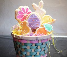 Easter Cookies from @Monica Shaw blog post