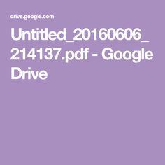 Untitled_20160606_214137.pdf - Google Drive Google Drive, Pdf, Animals, Animales, Animaux, Animal, Animais