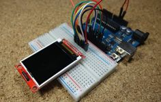 In this guide we're going to show you how to use the 1.8 TFT display. You'll learn how to write text, draw shapes and display images on the screen using Arduino