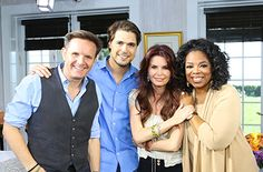Oprah interview with Diogo Morgado, from the TV series  The Bible.