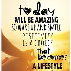 Positivity really is a mindset choice that grows on you. Make it a great day! #GoodMorning #Wednesday #HalfwayThere #positivity #LifestyleChoice #Amazing