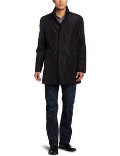 Kenneth Cole Men's Bonded Poly Car Coat #carcoat #coat #clothes #mens #polycarcoat