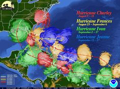 ....it was 2005 and our Universe was on edge. Mother Nature's forceful energy  inspired names like Hurricane Charley and Hurricane Jeanne.  Was there a message here? ~ Jeanne