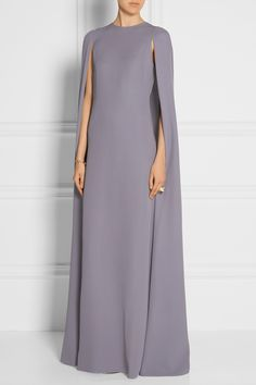 VALENTINO Silk-cady cape gown  $6,990.00 https://www.net-a-porter.com/products/587952