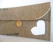 Yellow. Lemon Zest. Eco. Upcycled. Burlap. Tshirt. Clutch. Valentine. Love. White. Heart. Spring Fashion. For Her. Teen. Free U.S Shipping.