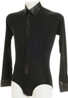 Victoria Blitz Mens Latin Dance Shirt UOMO 012  | Dancesport Fashion @ DanceShopper.com