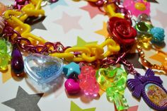 Barbie Super Chunky Yummy Gummi Love Charms Kawaii by Kawaii4U, $65.00
