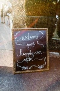 Love this chalkboard