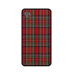 Plaid iPhone Case Rubber Silicone. $15.00, via Etsy.