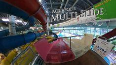 Napfényfürdő Aquapolis Szeged Multi Slide (pink) 360° VR POV Onride Water Slides, Vr, Make It Yourself, Pink, Roses