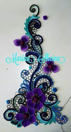 Watch The Video Splendid Crochet a Puff Flower Ideas. Phenomenal Crochet a Puff Flower Ideas. Irish Crochet Tutorial, Irish Crochet Patterns, Crochet Motifs, Freeform Crochet, Crochet Art, Crochet Diagram, Crochet Designs, Crochet Crafts, Doilies Crochet