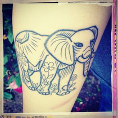 #elephant #tattoo #ink