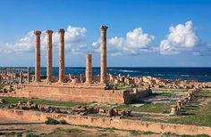Sabratha is an ancient city that was originally built by the Phoenicians and later became part of the Roman Empire. The ancient history preserved at the ruins, as well as its beautiful Mediterranean location, make it a top attraction in Libya.